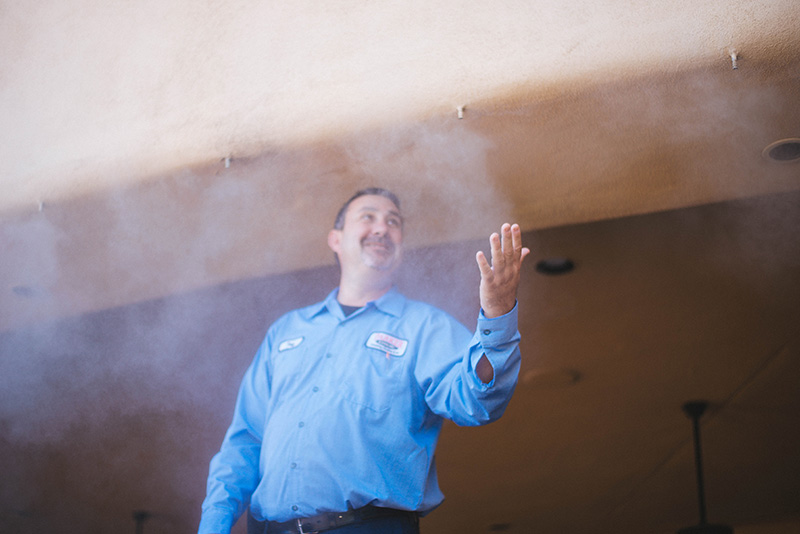 Misting Systems Phoenix - Parker & Sons