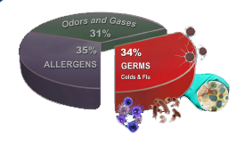 The Centers for Disease Control and Prevention presents this analysis of the causes and aggravation of allergies.